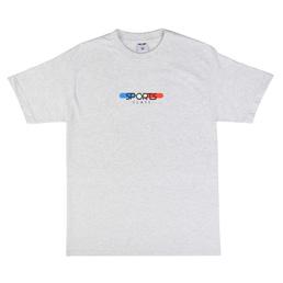 Sports Class Tablet Logo T-Shirt - Ash