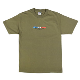 Sports Class Tablet Logo T-Shirt - M Green