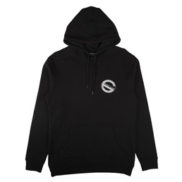 Sports Class Circle Logo Hood - Black
