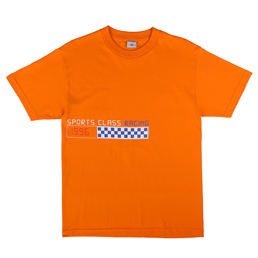Sports Class SC Racing T-Shirt Orange
