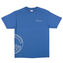 Sports Class Side Circle T-Shirt Royal
