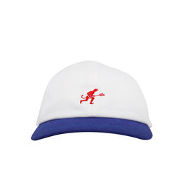Supply Devil Embroidery Cap - White/Blue