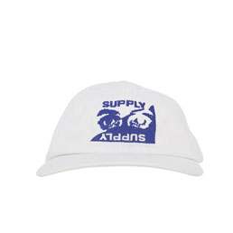 Supply Verbal Assault Cap - White