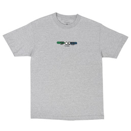 Sports Class Tablet Logo T-Shirt Grey