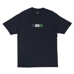 Sports Class Block Logo T-Shirt Navy