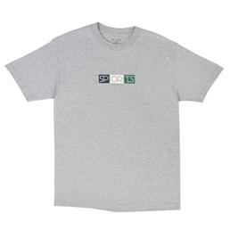 Sports Class Block Logo T-Shirt Grey
