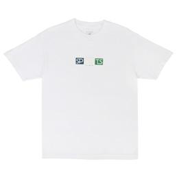 Sports Class Block Logo T-Shirt White