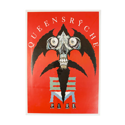 Queensryche Pushead Poster