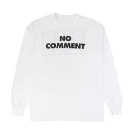 Sub Pop No Comment L/S T-Shirt - White