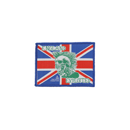 Exploited England Woven Patch