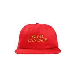 Sci-Fi Fantasy Logo Hat Red