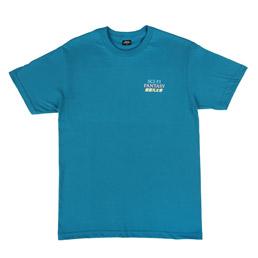 Sci-Fi Fantasy Mandarin T-Shirt Blue