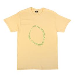 Sci-Fi Fantasy Free Will T-Shirt Yellow