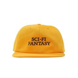 Sci-Fi Fantasy Logo Hat Mustard/Black