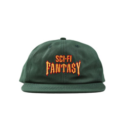 Sci-Fi Fantasy Biker Hat Green