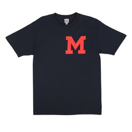 Ebbets SF Mission Reads GC T-Shirt Navy