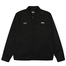 Supply x Stussy Garage Jacket - Black