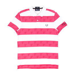 Thames x Fred Perry Polo Shirt - Shocking Pink