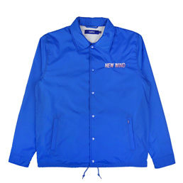 Supply New Wind Coach Jacket - Royal Blue