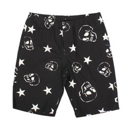 SOPHNET. Skull Star Short Pant Black