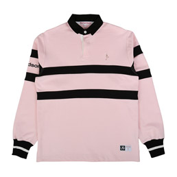 Richardson Rugby L/S Pink