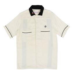 Richardson Glyph Bowling Shirt Off White