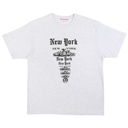 Richardson NY NY T-Shirt Grey