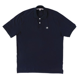 Richardson Engineered Glyph Polo - Midnight Blue