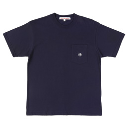 Richardson Pocket Glyph T-Shirt - Midnight Blue