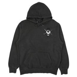 Supply x Stussy Skull Hood - Black