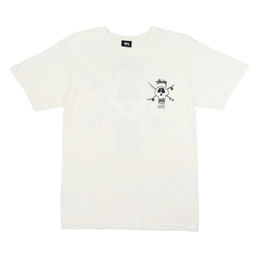 Supply x Stussy Skull T-Shirt - Natural