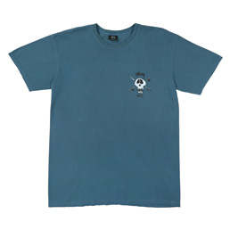 Supply x Stussy Skull T-Shirt - Slate