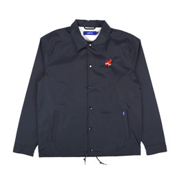 Supply Devil Within Coach Jacket - Navy