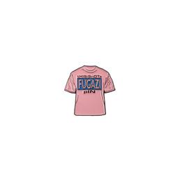 Fugazi T-shirt Pin