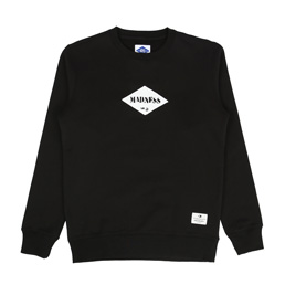 Madness Print Sweater Black