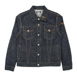 Thames Denim Jacket - Raw Indigo Blue