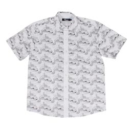 Thames Underworld S/S Shirt White/ Black