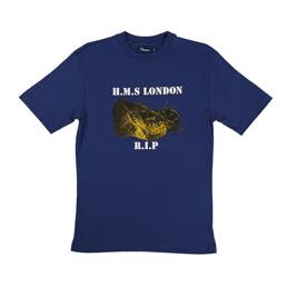 Thames H.M.S. London T-Shirt Navy