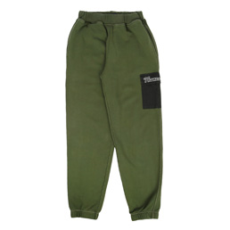 Thames Overdyed Joggers - Olive