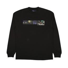 Thames Piccadilly L/S T-Shirt - Black