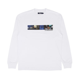 Thames Piccadilly L/S T-Shirt - White