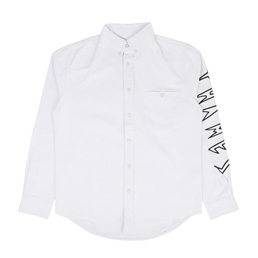 Thames Denim Shirt - White