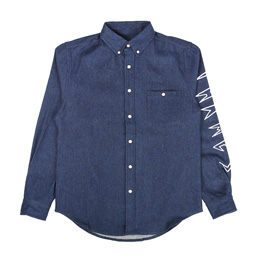 Thames Denim Shirt - Indigo