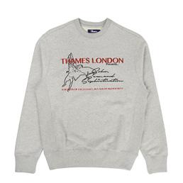 Thames Soho Crew Grey Marle