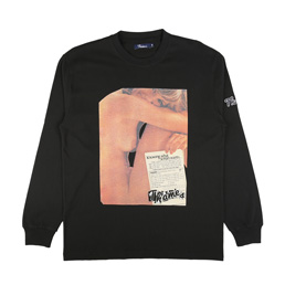 Thames Shag L/S T-Shirt Black