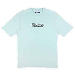 Thames Logo S/S T-Shirt Pale Blue