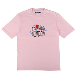 Thames Tourist T-Shirt Rose Pink