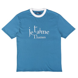 Thames Je Thames T-Shirt Navy
