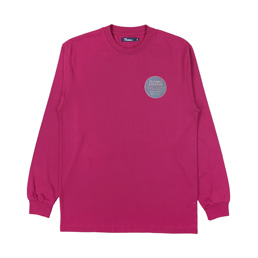 Thames Infinity Plaque T-Shirt Dark Pink