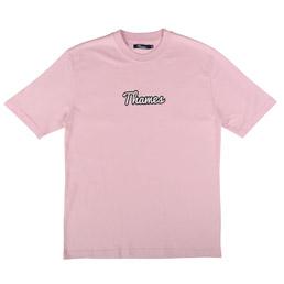 Thames Logo T-Shirt Rose Pink